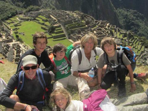 Peru met kinderen - Machu Picchu