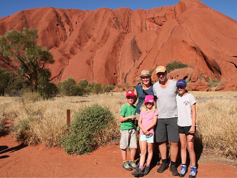 australie familiereis