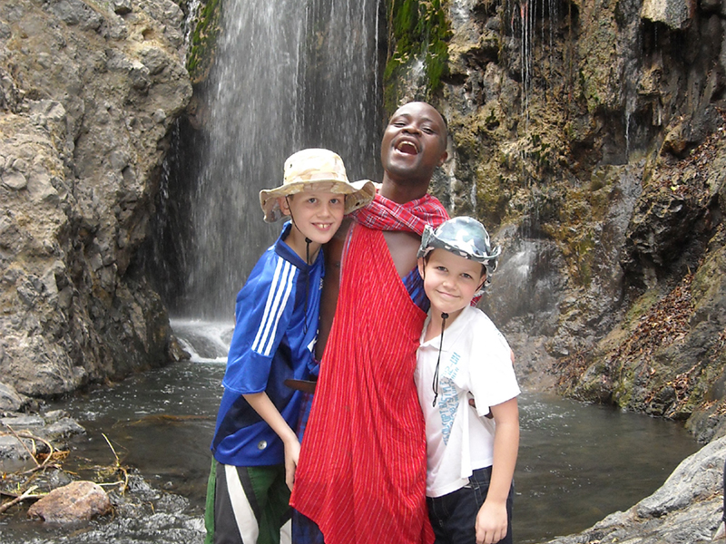kenia tanzania familie