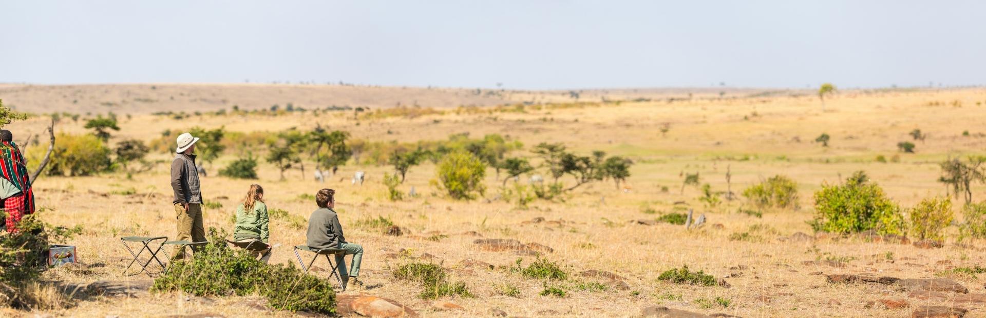 Safari Afrika met kinderen