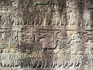 Angkor tempel details