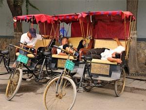 china riksja hutongs beijing