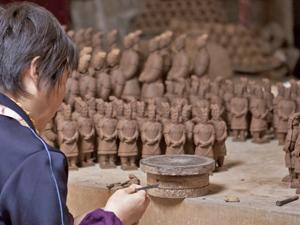 terracotta leger china